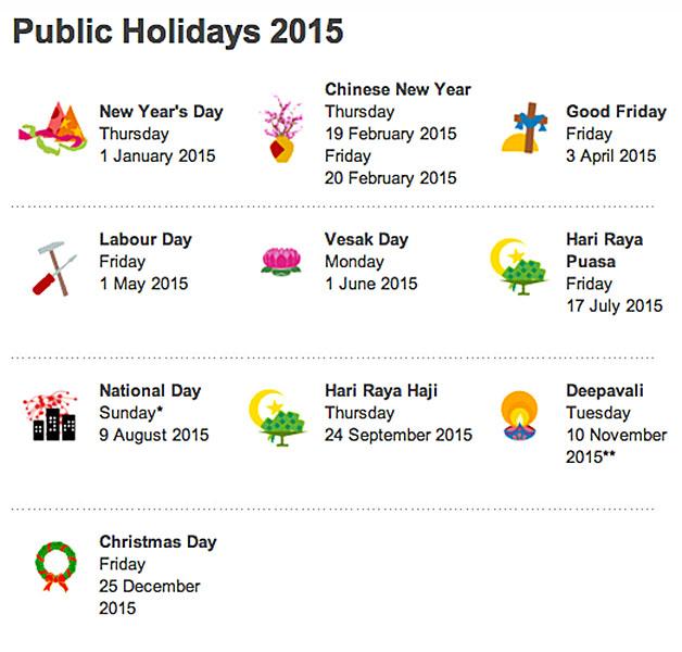 Best Photos of 2015 Calendar With All Holidays - 2015 Calendar ...