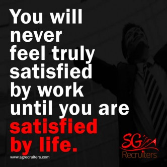 Satisfied By life